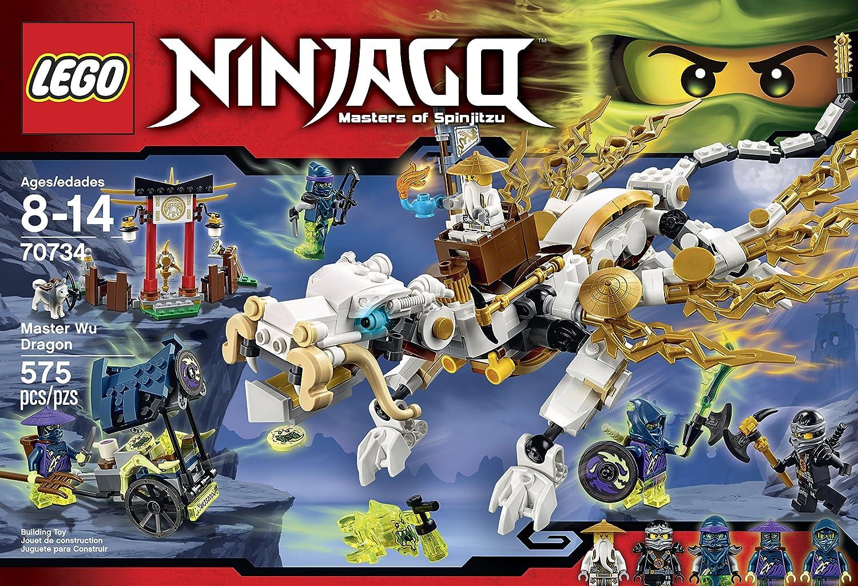 Lego ninjago 70734 master wu dragon ninja building kit ebay - Dragon ninjago lego ...