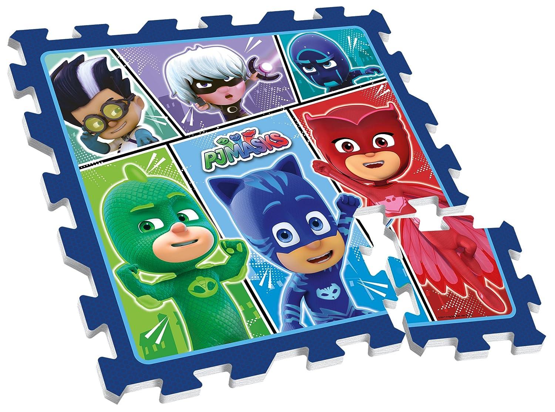Stamp Jouets d'Eveil-Tapis de Sol en Mousse-PJ Masks-Pyjamasque, TP280001