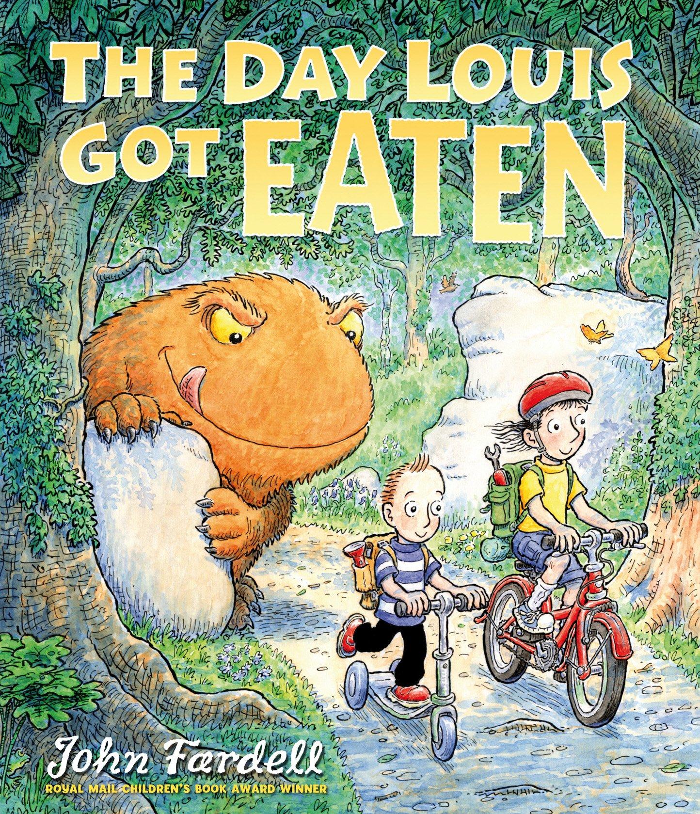 The Day Louis Got Eaten: Amazon.co.uk: Fardell, John: 9781849393874: Books
