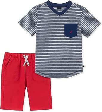 NAUTICA Sets (KHQ) Boys' Little 2 Pieces Tee Shorts