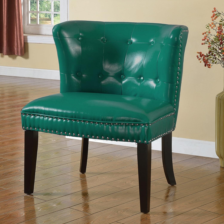 Fantastic Amazon Com Best Master Furniture Regal Tufted Faux Leather Pabps2019 Chair Design Images Pabps2019Com
