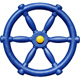 Jungle Gym Kingdom Swing Set Accessories - Pirate Ship Steering Wheel for Kids Outdoor Playhouse, Treehouse & Backyard Playse