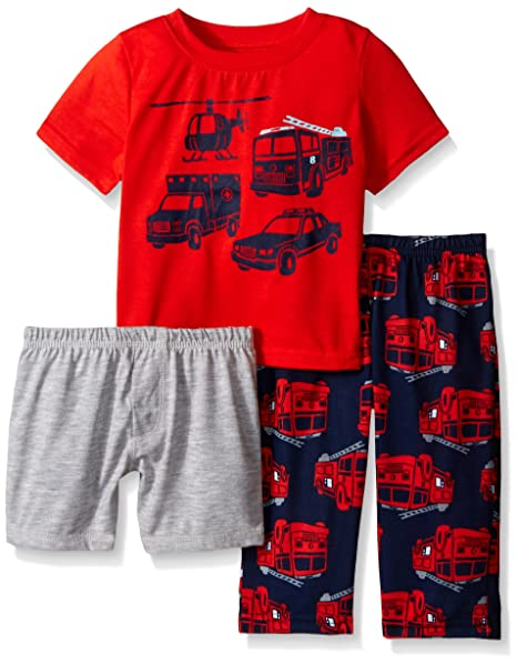 929dc856d Amazon.com  Carters Baby and Toddler Boys 3-Piece Pajama Set  Clothing