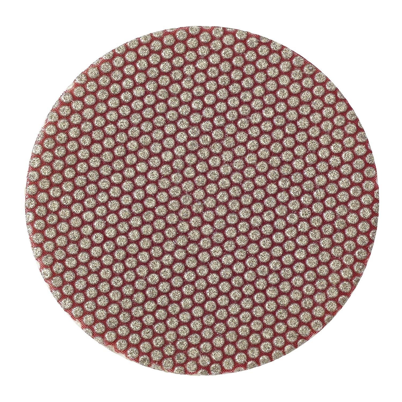 Red TR Attachment Pack of 5 3 Diameter 3M Roloc Flexible Diamond Disc 6234J M74 Grit