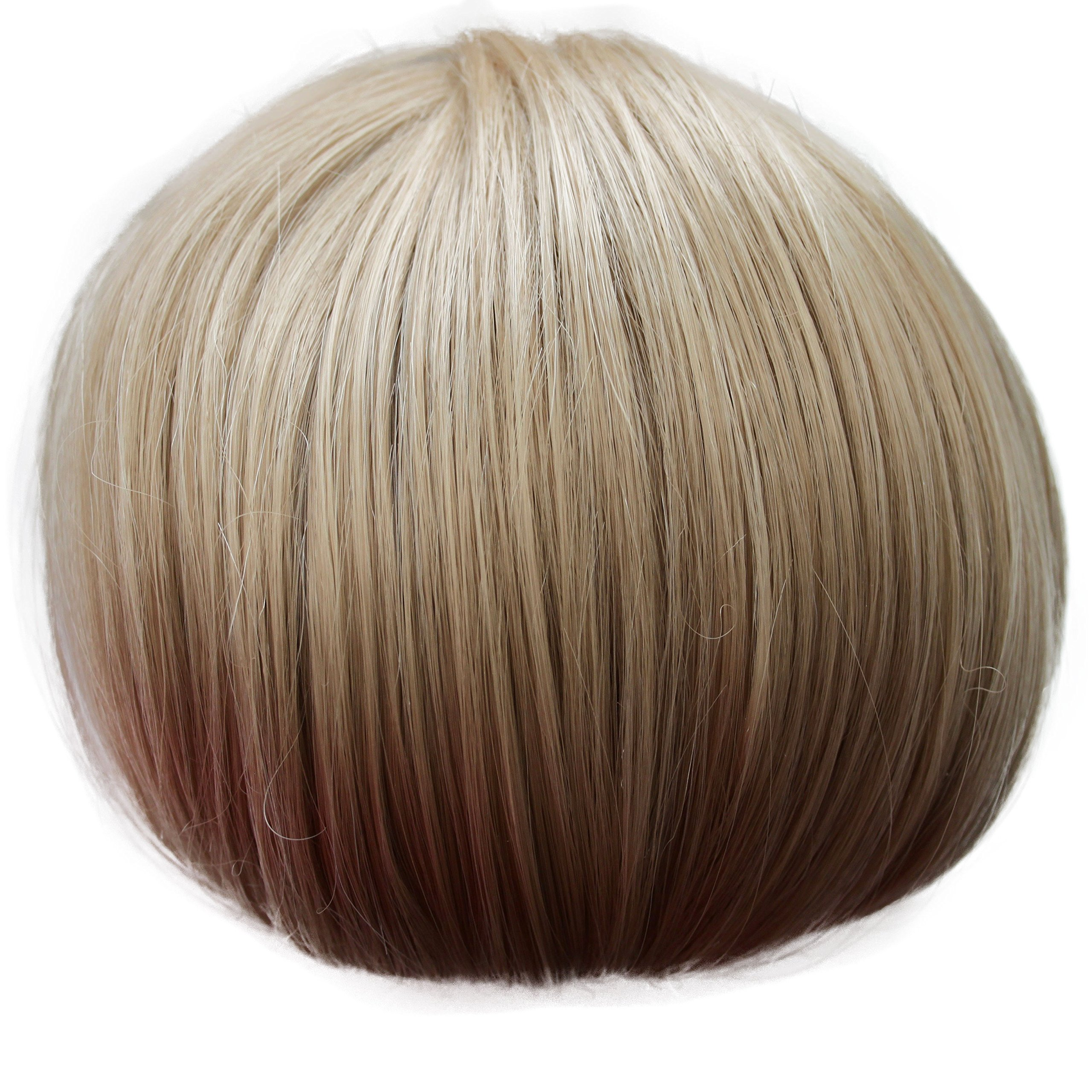 PRETTYSHOP Up Do Hair Bun Topknot Knot Scrunchy Scrunchie Hair Piece Pony Tail Draw String Elegant Lovely Div. Colours (blonde sandy 16/613)