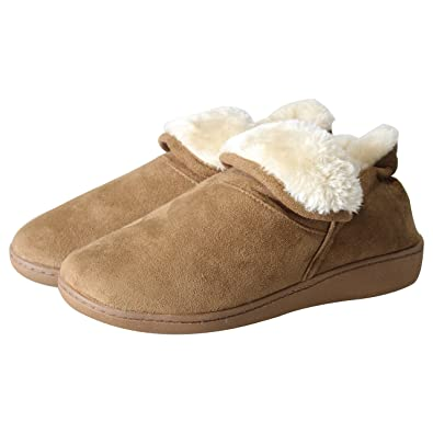 Hombre 8 100% leather warmed slippers hand made Talla:6.5 7.5 8 Hombre 9 9.5 10.5 11 195492
