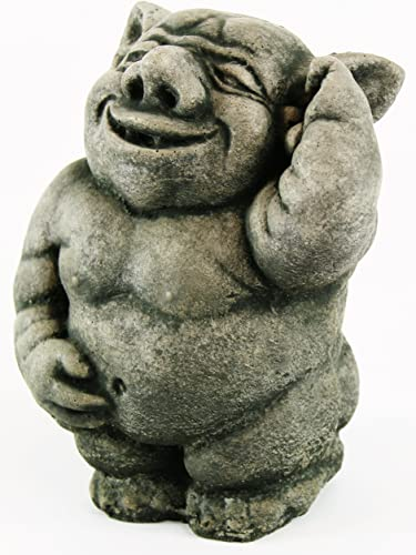 Ogre Garden Statue Happy Troll Sculpture