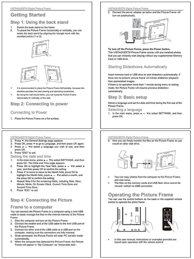 Digital Frame Manual Free Owners Manual