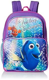 1 Disney Pixar Finding Dory Nemo Ocean Buddies 3D Front Zipper Pocket Backpack