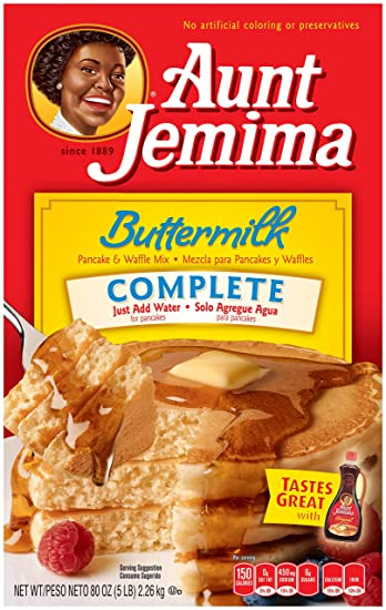 Amazon aunt jemima pancake waffle mix buttermilk complete aunt jemima pancake waffle mix buttermilk complete 50 serving box ccuart Gallery