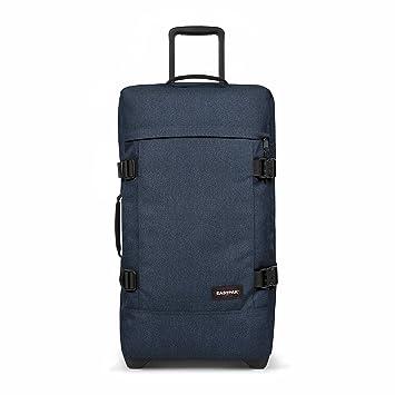 gamme complète de spécifications profiter de prix bas le plus populaire Eastpak Tranverz M Suitcase, 67 cm, 78 L, Blue (Double Denim)