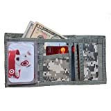 Tri-Fold ACU Army Military Camouflage Wallet Bill Fold Velcro Or MAGIC Wallet (FREE RETURN)