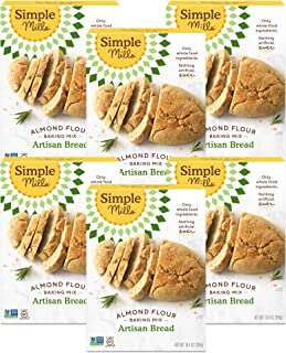 product image for Simple Mills Almond Flour Baking Mix, Gluten Free Artisan Bread Mix, Made with whole foods, 6 Count (Packaging May Vary)