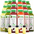 Raw Fountain 7 Day Juice Cleanse, All Natural Raw, Cold Pressed Fruit and Vegetable Juice, Detox Cleanse Weight Loss, 42 Bottle 16oz, 7 Ginger Shots