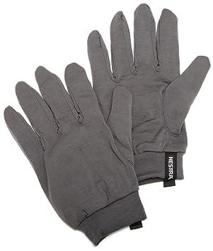 03770d81536985 Hestra Merino Wolle Liner Handschuh, Herren Damen, dunkelgrau ...