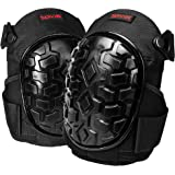 Knee Pads for Work - Knee Pads For Men Women for Construction, Gardening, Cleaning, Flooring, Strong Straps and Adjustable Easy-Fix Clips with Comfortable Gel Cushion and Heavy Duty Foam