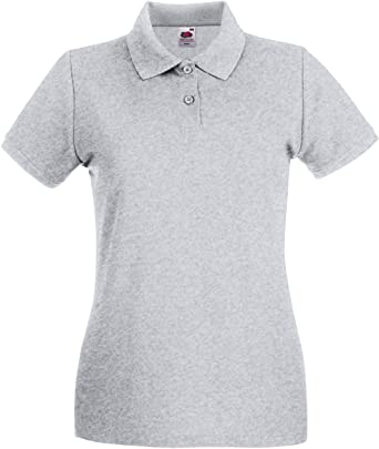 Fruit of the Loom - Polo - para Mujer Gris Large: Amazon.es: Ropa ...