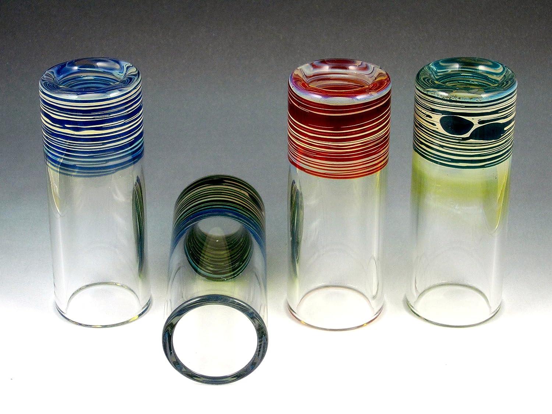 Silica Sound 420 Original Regular Glass Slide Blue Green