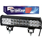 "EPAuto 12"" 72W 7200lm Cree LED Light Bar Flood Spot Combo Beam Waterproof Mount for Jeep / Van / Wagon / ATV / SUV / Pickup / Off-road"