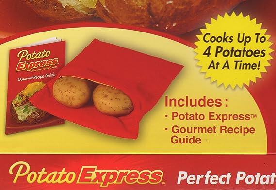 Amazon.com: Potato Express - Olla para patatas microondas ...