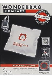 dustwave – 20 bolsas para aspiradoras Rowenta – Silence Force Compact RO6331 – Fabricado en Alemania: Amazon.es: Hogar