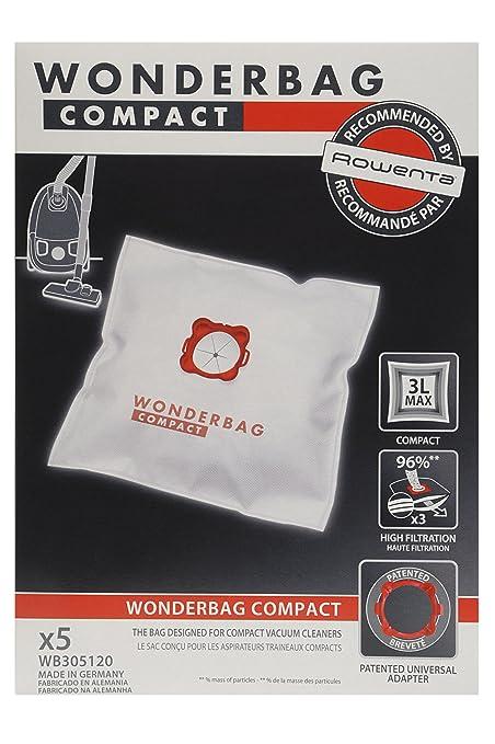 273 opinioni per Rowenta WB305120 Set 5 Sacchi Wonderbag Compact Universali