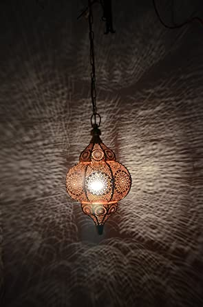 Indian moroccan lamp hanging light shade metal pendant lamp red 12 x indian moroccan lamp hanging light shade metal pendant lamp red 12 x 75 inches aloadofball Image collections
