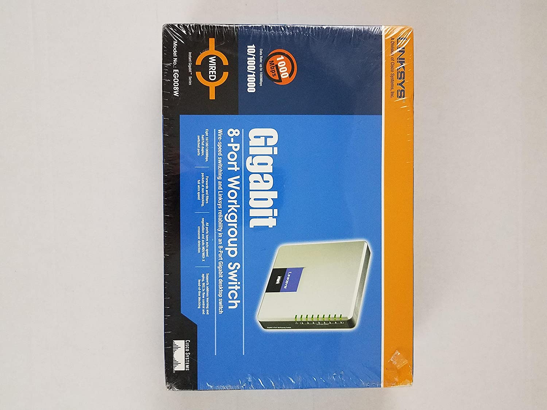 Cisco-Linksys EG008W  Gigabit 8-Port Workgroup Switch