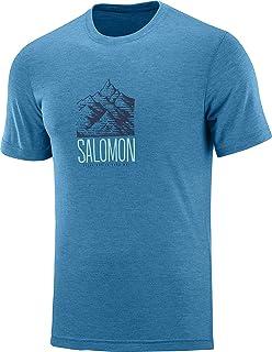 SALOMON Blend Logo SS tee - T-Shirt Hombre: Amazon.es: Ropa y accesorios