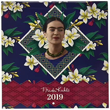 Calendario2019-12 láminas 30x30 Cm Frida Kahlo