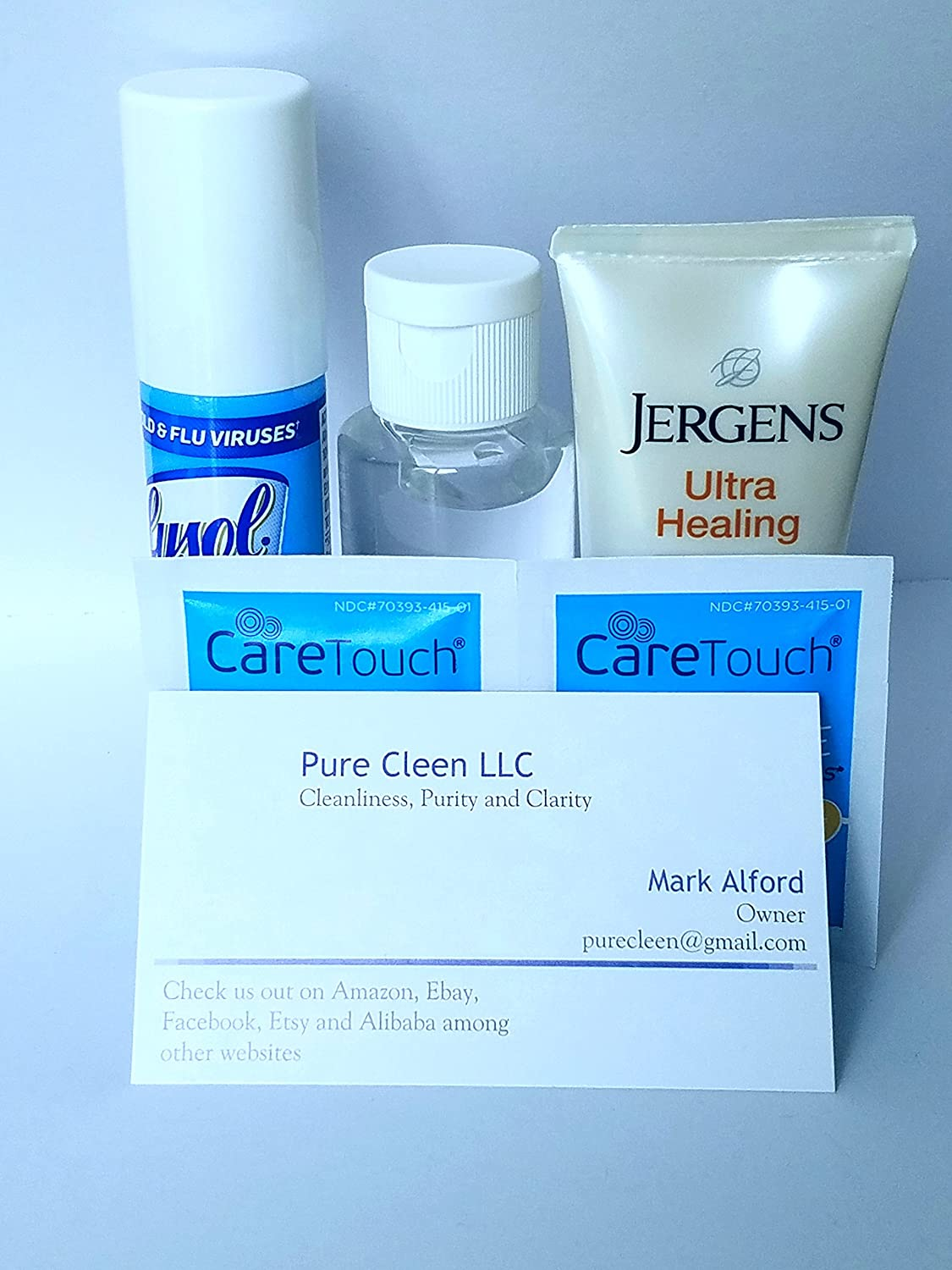 Amazon.com: Travel Disinfectant and Antibacterial kit Eliminates 99.9% of Germs and Viruses: Health & Personal Care
