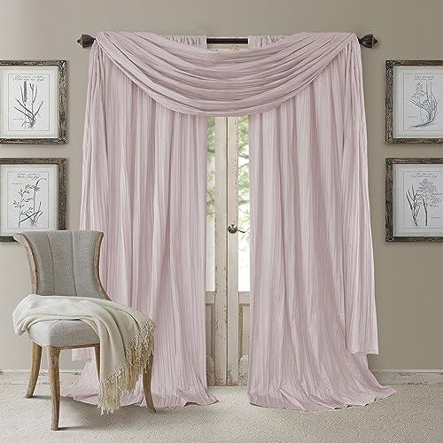 Elrene Home Fashions Venice Curtain Panel