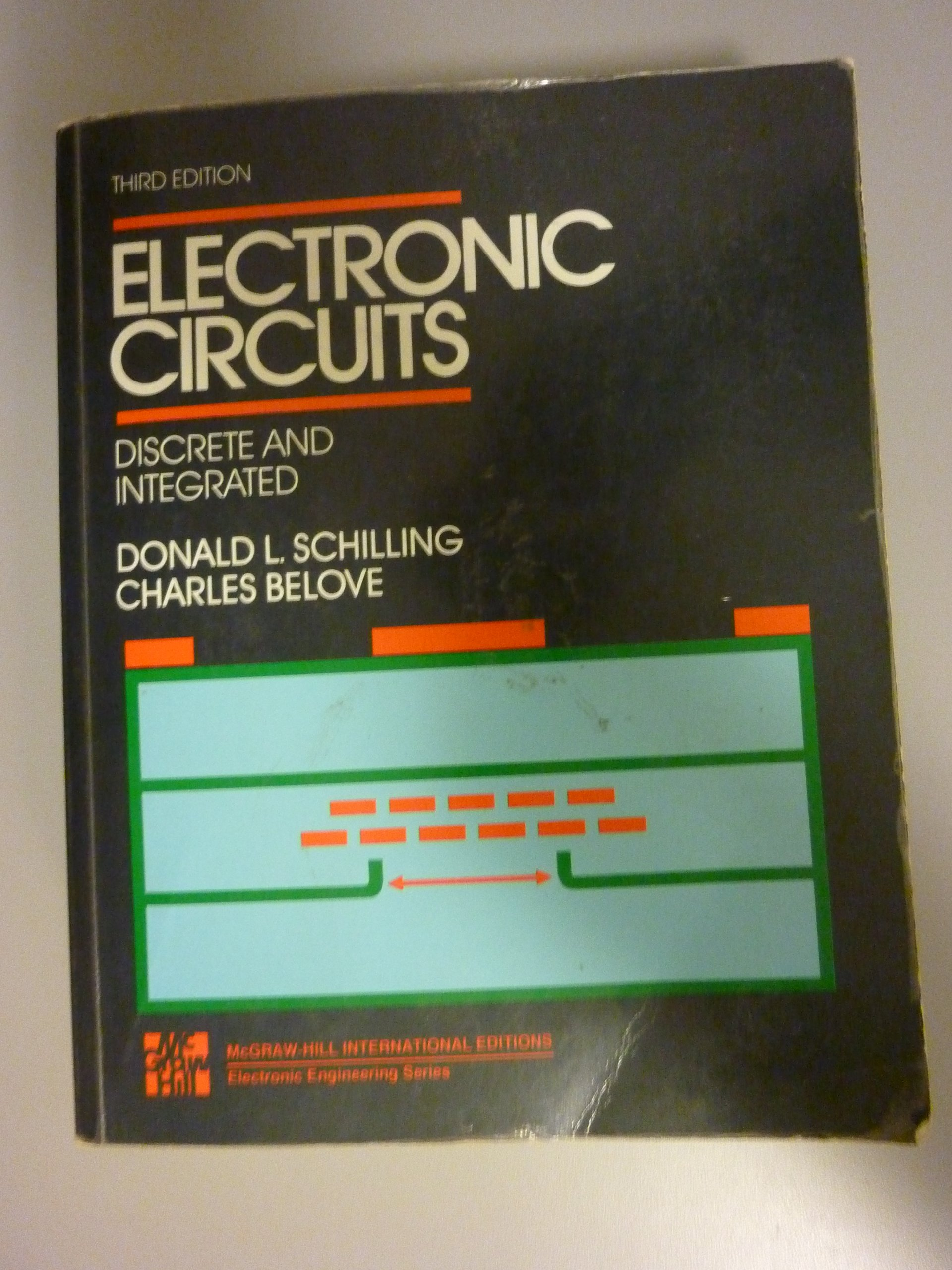Electronic Circuits Discrete And Integrated Schilling Belove Circuit 9780071006026 Books