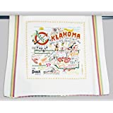 Catstudio Oklahoma Dish Towel - Original Geography Collection Décor 046D(CS)