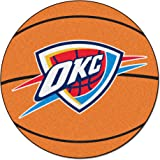 FANMATS NBA Oklahoma City Thunder Nylon Face Basketball Rug