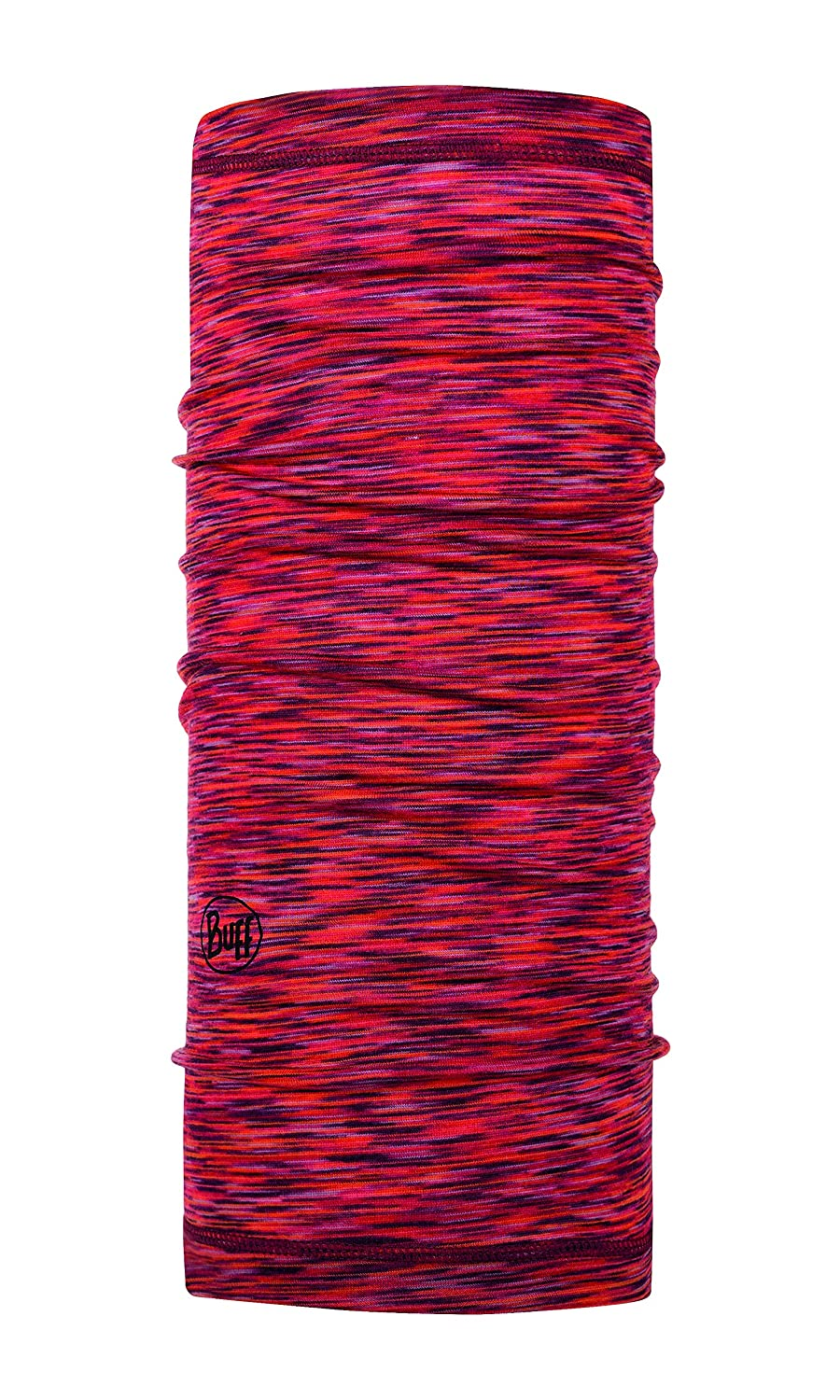 Buff Lightweight Merino Wool Multifunktionstuch Grey Multi Stripes one Size Original Buff S.A.