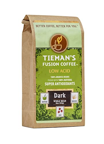 Tieman's Fusion Coffee Low Acid Dark Roast