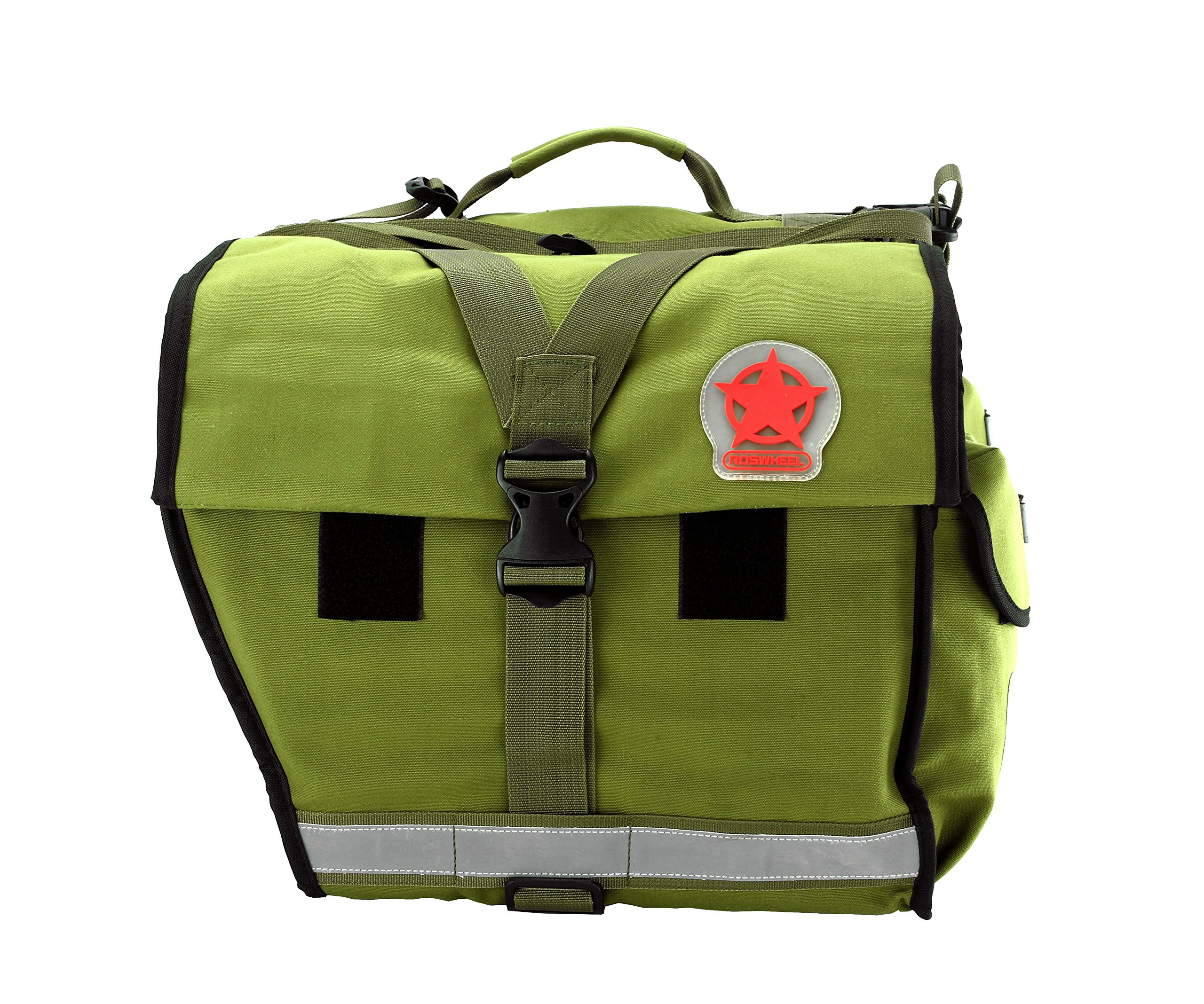 Roswheel 14686 Expedition Series Bike Rear Rack Bag Bicycle Double Panniers Cargo Trunk Bag by Roswheel (Image #11)