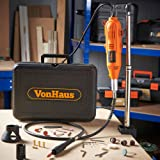 VonHaus Variable Speed Rotary Tool Set with Flex