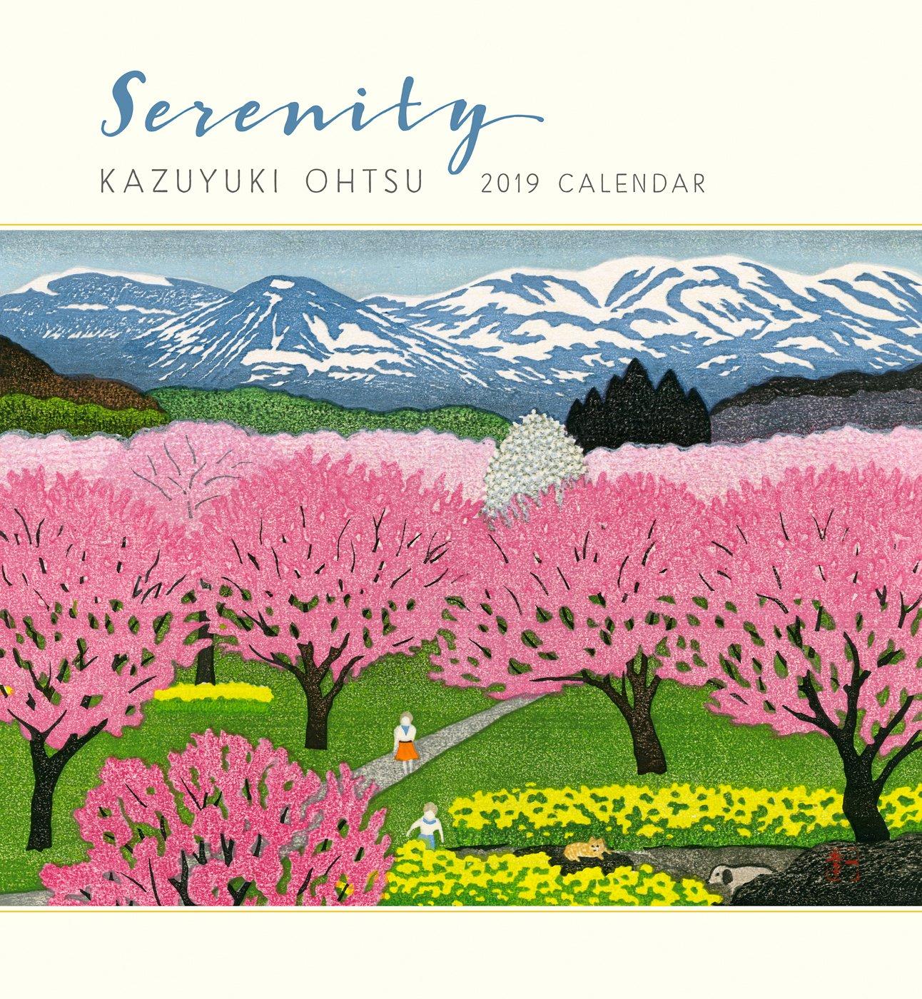 Serenity - Kazuyuki Ohtsu 2019 Calendar