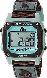 Freestyle Unisex 10026748 Shark Clip Digital Display Japanese Quartz Grey Watch