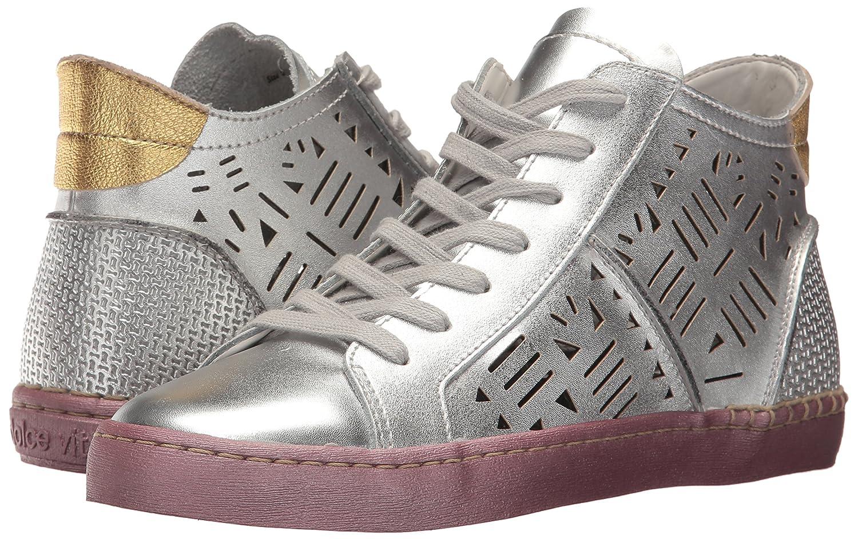 Dolce Vita Zeus Frauen Zeus Vita Fashion Sneaker Silver Leder cd8c77