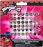 Miraculous Orecchini Sticker per Bambini, 65984