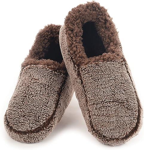 Snoozies Mens Slipper Socks - Soft