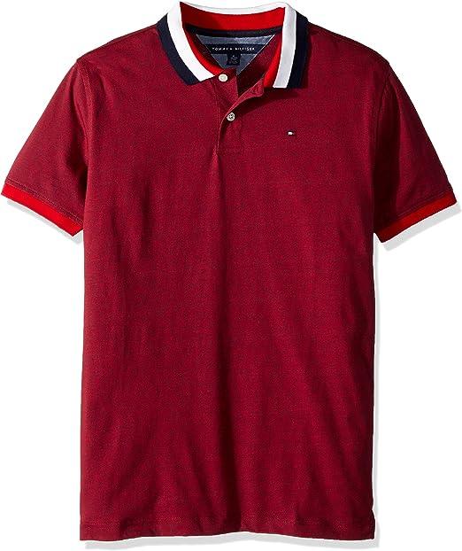Tommy Hilfiger Boys Short Sleeve Solid Matt Polo Shirt