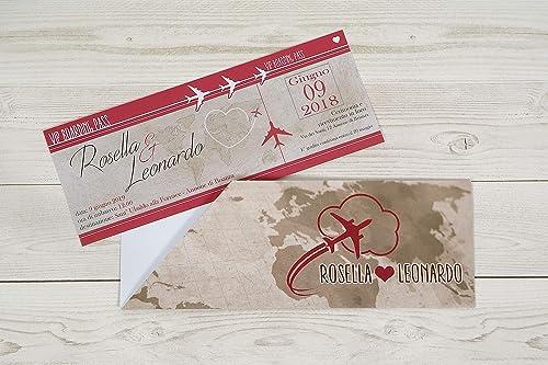 Partecipazioni Matrimonio Personalizzate On Line.Partecipazioni Matrimonio Personalizzate Inviti Nozze Biglietto
