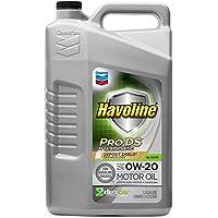 HAVOLINE 223506474 Pro DS Aceite sintético Completo 0W20, 5 Cuartos, 4.73 l