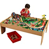 Amazon.com: KidKraft Metropolis Train Table & Set: Toys & Games