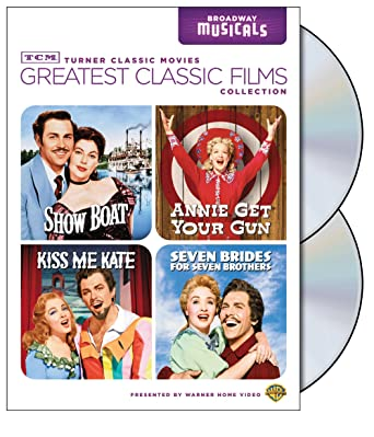 TCM Greatest Classic Films Collection Broadway Musicals Show Boat Annie Get Your Gun