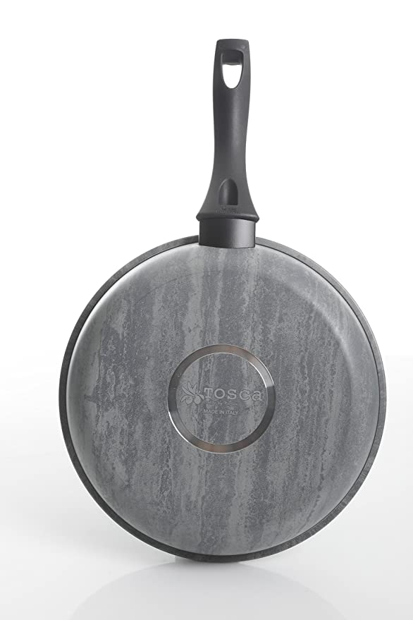 Tosca 80582.01 Carucci Giove 11 Inch Frying Pan, Marbeled Grey